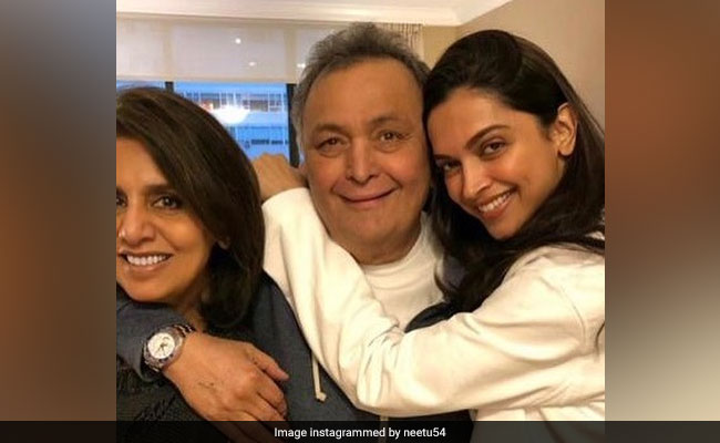'Adorable Deepika Padukone': Rishi Kapoor And Neetu Had Another Visitor In New York