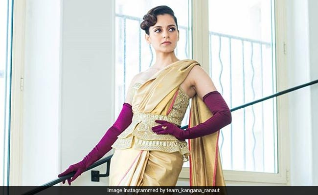 Cannes 2019: Kangana Ranaut's Saree Was Lovely. The Gloves, Not So Much