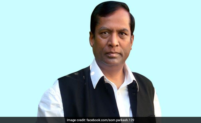 Former Bureaucrat Som Parkash Among First-Timers In PM Modi's Cabinet