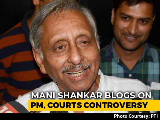"Video : ""Was I Not Prophetic?"" Mani Shankar Aiyar Revives ""<i>Neech</i>"" Controversy"