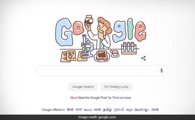Google celebrates haematologist Lucy Wills` 131st birthday with a doodle