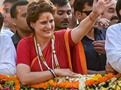 "Election 2019: Priyanka Gandhi's Swipe At PM's ""Cloudy"" Remark, With A Rafale Angle"