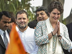 "Shiv Sena's Unusual Praise For Rahul Gandhi, Priyanka: ""They Worked Hard"""