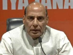 Mamata Banerjee Responsible For Bengal Poll Violence: Rajnath Singh