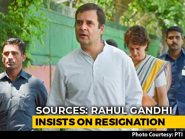 Rahul Gandhi Meets 2 Congress Envoys, Says Find My Replacement: Sources