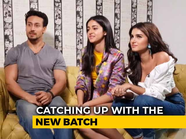 Video : Spotlight: Tiger Shroff, Ananya Panday, & Tara Sutaria On SOTY 2, Stardom, & More