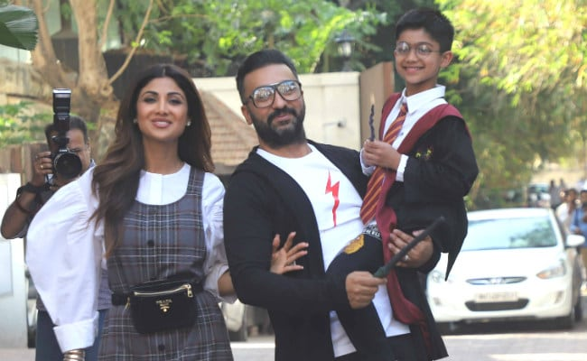 Shilpa Shetty's Son Viaan Raj Kundra Celebrated 7th Birthday In Hogwarts. Pics Here