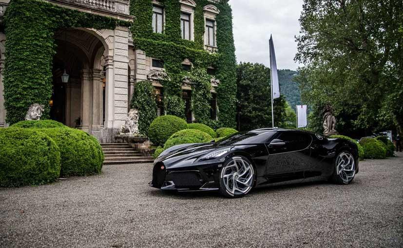 Bugatti La Voiture Noire1 Wins Design Award At Villa D'Este
