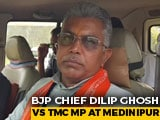 Video: Trinamool Congress Is Resorting To Violence: Bengal BJP Chief Dilip Ghosh
