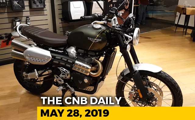 Video : Triumph Scrambler 1200 XC, Honda CB Shine, Activa, Aprillia Storm