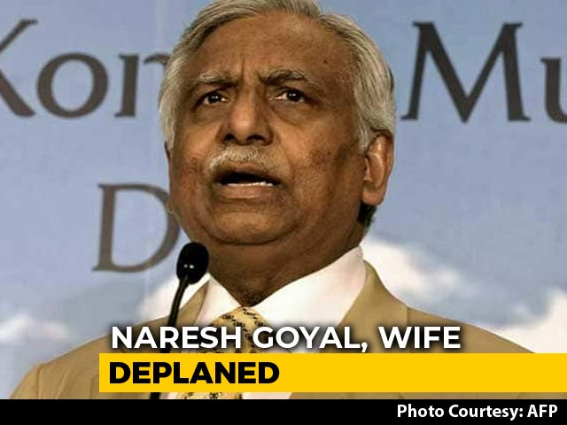 Video : Ex-Jet Chairman Naresh Goyal, Wife Stopped At Mumbai From Flying Abroad