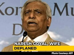 Video: Ex-Jet Chairman Naresh Goyal, Wife Stopped At Mumbai From Flying Abroad