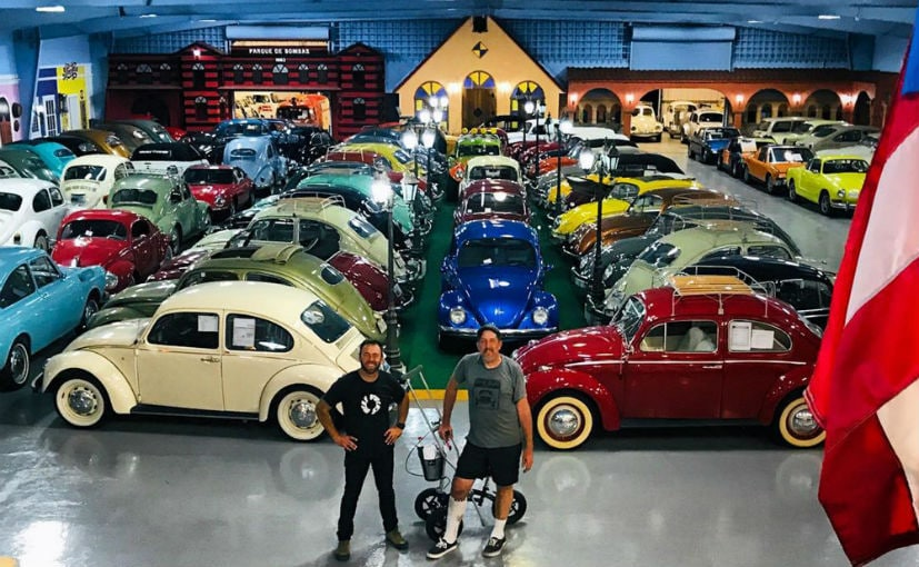 The world's largest VW cars collection comprises mostly of air-cooled cars | Pic Credit: Randy Carlson