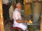 Video : PM Modi In Varanasi For Thanksgiving, Prays At Iconic Temple