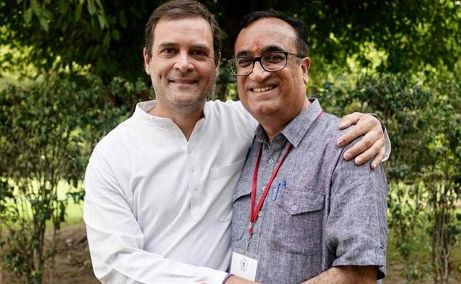 Lok Sabha Elections 2019- 'Results Will Be In Favour Of Congress, Rahul Will Be Next PM': Ajay Maken