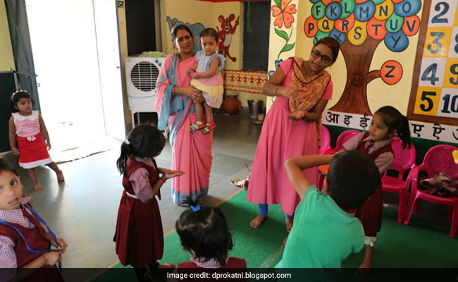 Collector Puts Daughter In 'Anganwadi', Draws Governor's Praise