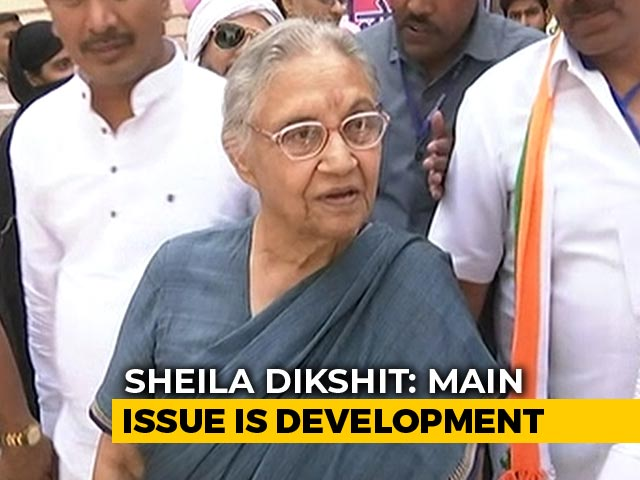 Video : Development Is The Main Issue In This Election, Says Sheila Dikshit