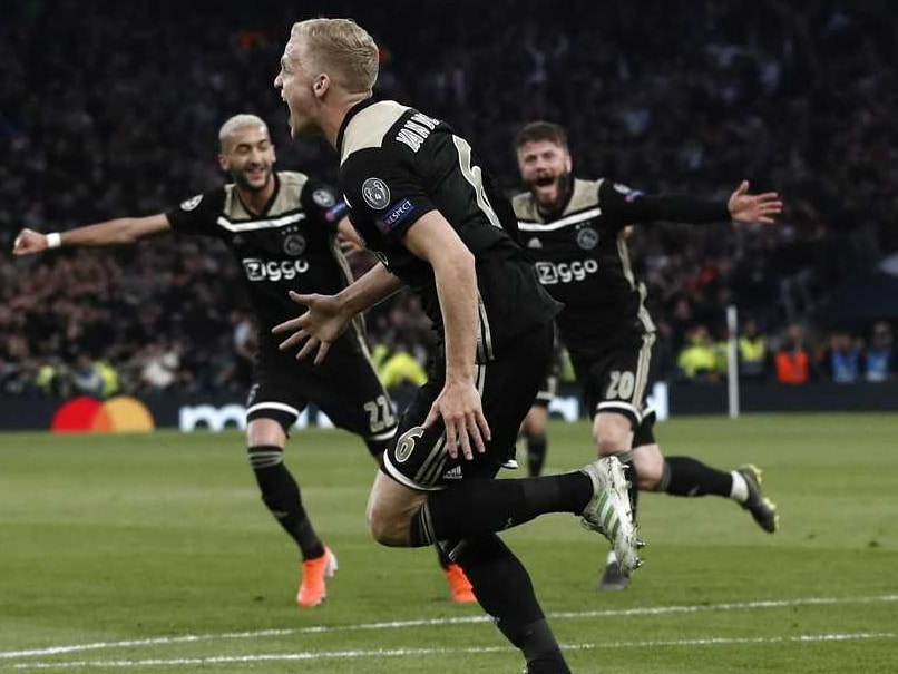Ajax Beat Tottenham 1-0 In Champions League Semi-Final First Leg