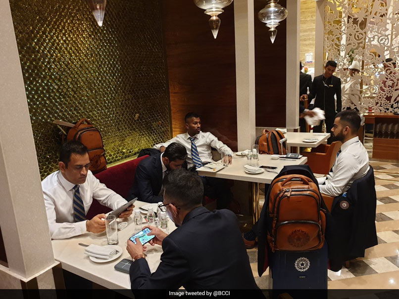 """All Geared Up"": Team India Leaves For World Cup 2019. See Pictures"