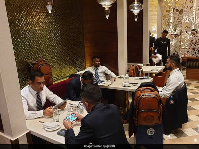 """""""All Geared Up"""": Team India Leaves For World Cup 2019. See Pictures"""
