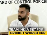 "Video : ""Most Challenging World Cup For Me"": Virat Kohli Before Team Heads To London"