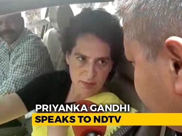 "Video : ""Would Rather Die Than Help BJP In Any Way"": Priyanka Gandhi To NDTV"