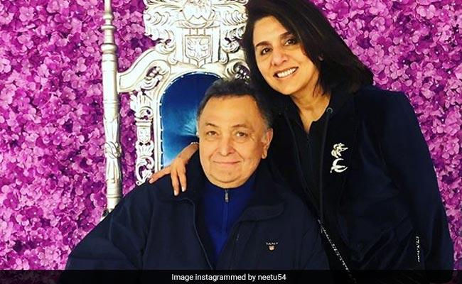 Mukesh Ambani, Nita Ambani shower love on Rishi Kapoor