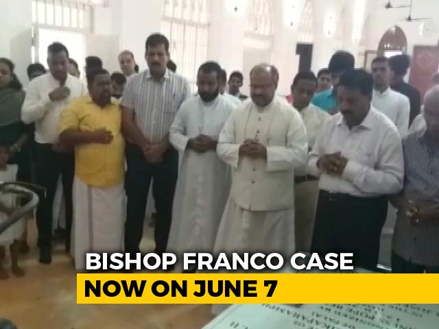 Video : Bishop Accused Of Kerala Nun Rape Prays In Church Before Court Appearance