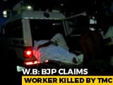 Video : BJP Worker Found Dead In Bengal's Jhargram, Party Accuses Trinamool