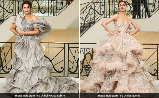 Cannes 2019: Huma Qureshi And Diana Penty Are Sparkle Queens
