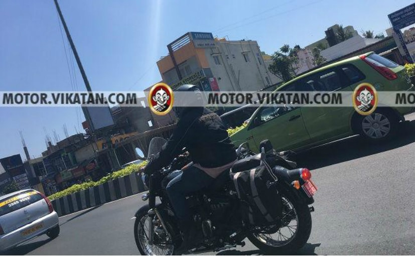 An upcoming model of the Royal Enfield Classic 350, possibly BS-VI ready, has been spotted