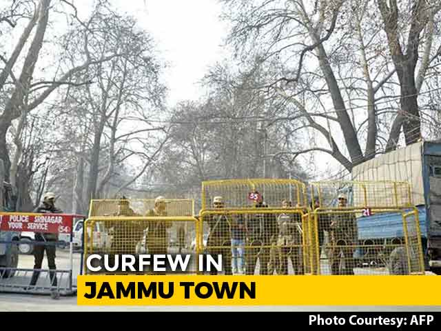 Video : Curfew In Jammu Town After Man Is Shot Dead Allegedly By Cow Vigilantes