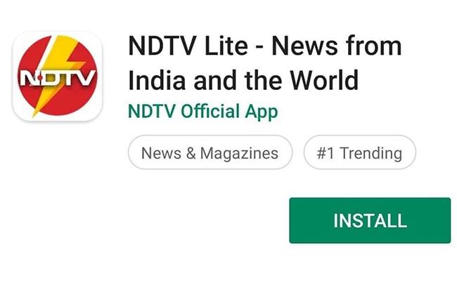 सबसे सटीक और तेज़ चुनाव नतीजों के लिए NDTV ने लॉन्च किए NDTV Lite एन्ड्रॉयड ऐप