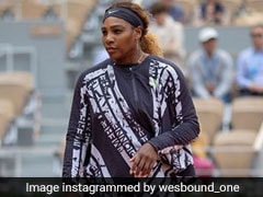 "Serena Williams Wears Cape At French Open With ""Mother, Champion, Queen, Goddess"" Emblazoned On It"