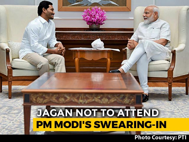 Video : Jagan Reddy To Skip PM Modi's Oath, Will Play Host To KCR, Stalin Instead