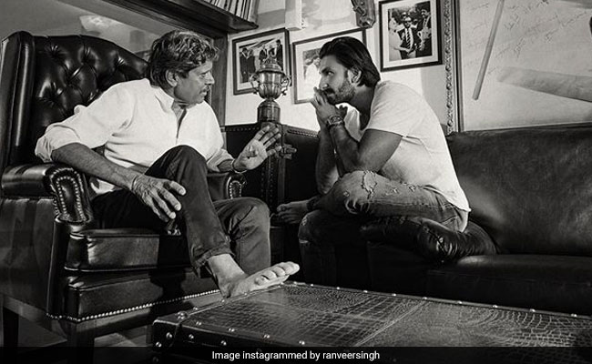 Ranveer Singh On Why Playing Kapil Dev In '83 Is 'Uniquely Challenging'