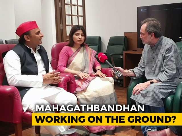 Video : Mayawati For PM? Akhilesh And Dimple Yadav Speak To Prannoy Roy