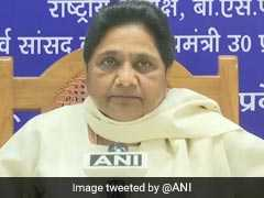 Act Against Those Forcing People To Chant Religious Slogans: Mayawati