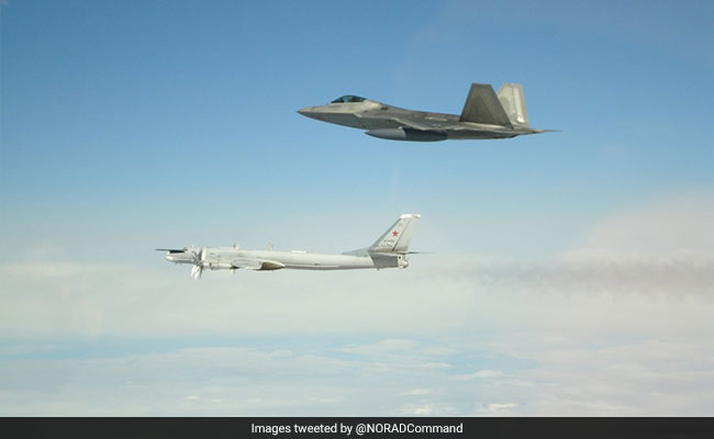 US Fighter Jets Intercept Russian Warplanes Near Alaska