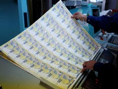 Money, Money, Money: Behind The Scenes At A Euro Note Printing Press