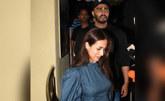 Malaika Arora And The Kapoors Watch Arjun's New Film India's Most Wanted. See Pics