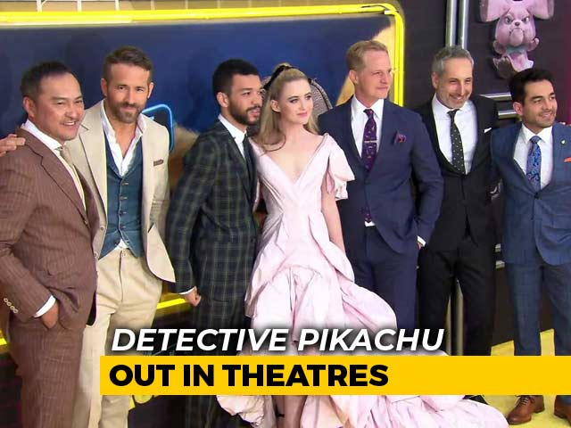 Exclusive: Meet Ryan Reynolds & Other Stars Of Detective Pikachu