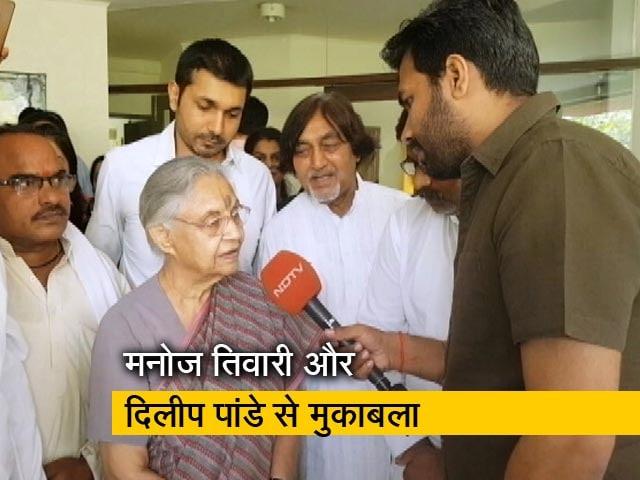 Video : रवीश की रिपोर्ट : कांग्रेस उम्मीदवार शीला दीक्षित के चुनाव प्रचार का जायजा