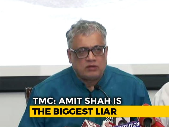"Video : ""Amit Shah A Liar"": Trinamool Congress Hits Back Over Kolkata Violence"