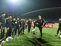 South Koreans Say Sorry To China As Player Celebrates With Foot On Trophy