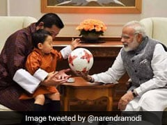 Bhutanese King Congratulates PM Modi After His Election Victory