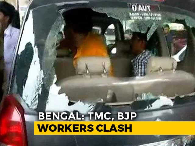 Video : Crude Bombs, Lathicharge In Bengal, Minister Wants Central Forces To Stay