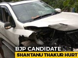 Video : Bengal BJP Candidate In Hospital After Car Crash, Trinamool Says Fake