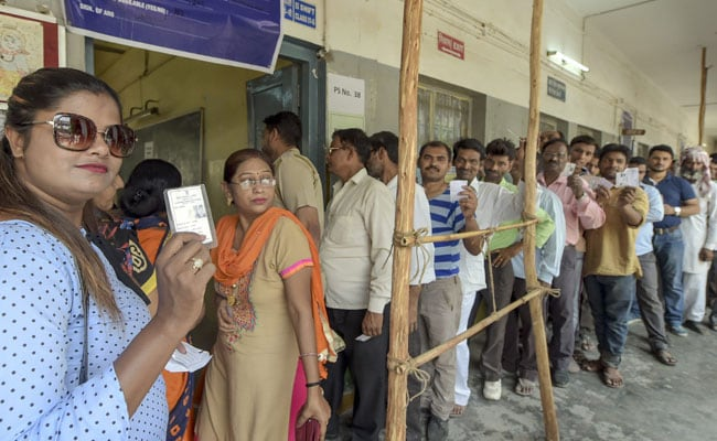 Election 2019: Voter Turnout Till 3 PM In Delhi Remains Low At 44.90 Per Cent