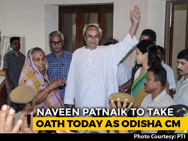 Video : Naveen Patnaik To Take Oath As Odisha Chief Minister For Fifth Term Today